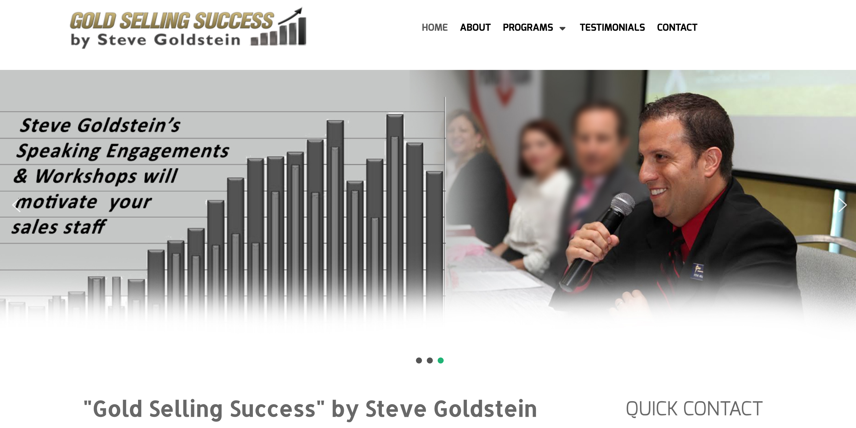 WEBSITE DESIGN Arlington Heights GOLD SELLING SUCCESS
